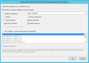 SQLServerCollationforSharePoint
