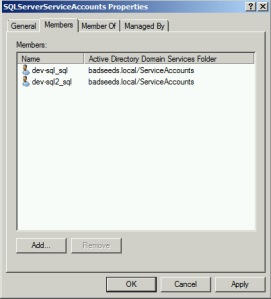 SQLServerEngineServiceAccountsMembers