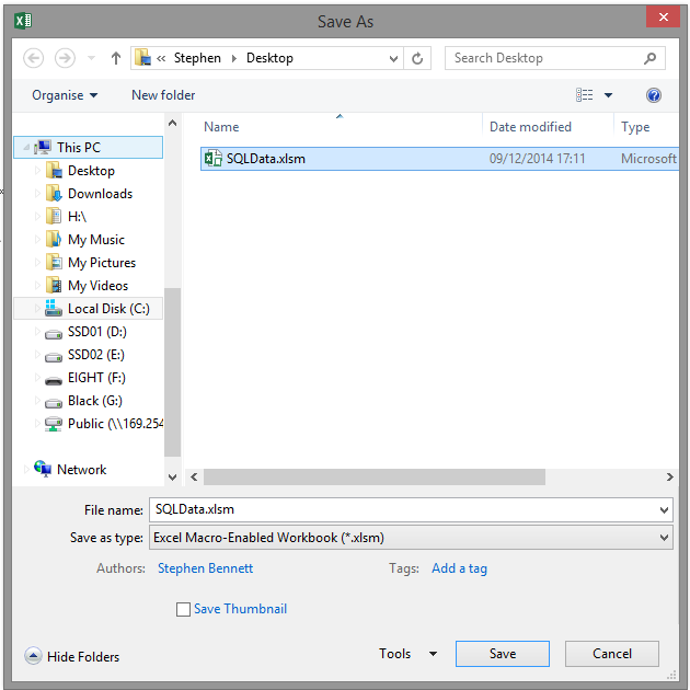 By Example – Using Excel VBA to Export SQL Data Series – 01 | SQL ...