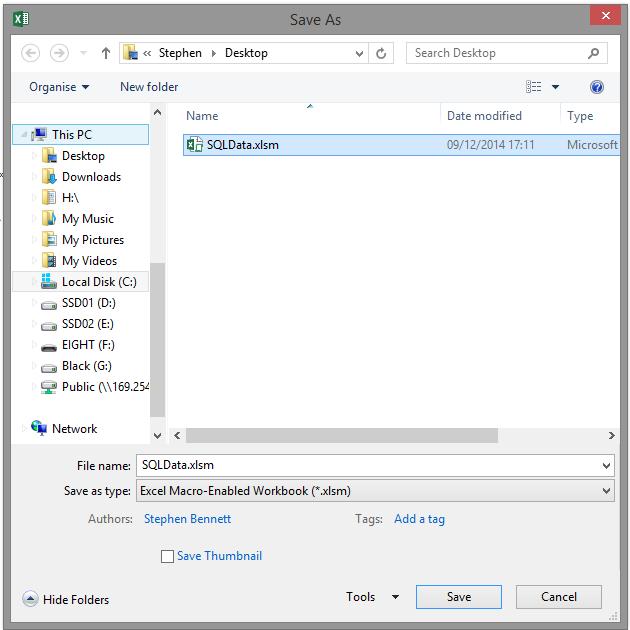 Excel Vba Save Workbook As New File