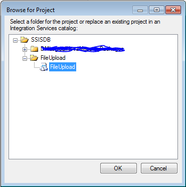 Import  ispac file or deployed project back into a Visual